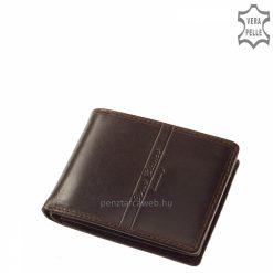 elegáns férfi bőr pénztárca