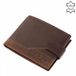 Design pénztárca díszdobozban sőtétbarna GDH1002_T
