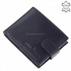 Közkedvelt modelljeink egyike ez a kék klasszikus valódi bőr férfi pénztárca, kellemesen használható, praktikus belsővel.