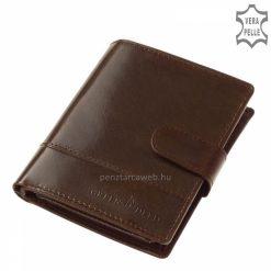 kiváló minőségű férfi bőr pénztárca
