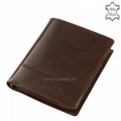 kiváló minőségű, divatos férfi bőr pénztárca