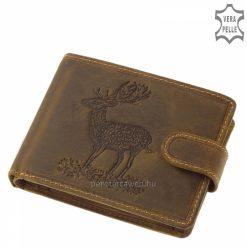GreenDeed vadász férfi pénztárca dámszarvas mintával DAM9641_T