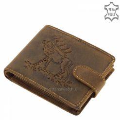GreenDeed vadász férfi pénztárca szarvasmintával ASZ1021_T