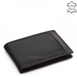 Kisméretű bőr pénztárca fekete DG82