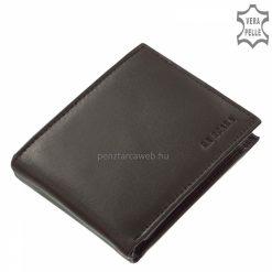 első osztályú minőségű bőr férfi pénztárca