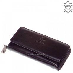 Loren női bőr pénztárca fekete 73001