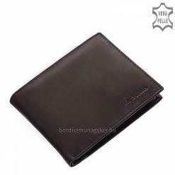 fekete La Scala bőr férfi pénztárca