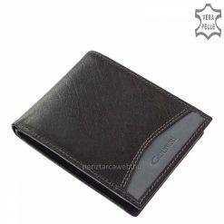 fekete bőr pénztárca