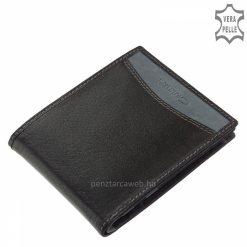 divatos bőr pénztárca
