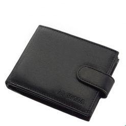 Valódi bőrből gyártott, puha tapintású, divatos fekete színű, minőségi férfi pénztárca, mely kifejezetten férfiak számára tervezve készült.