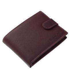 Minőségi bőr női pénztárca, mely lila színben készült igényes marha bőr felhasználásával, klasszikus belső kialakítással.