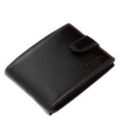 Elegáns stílusban készített, fekete színű igazi bőr férfi pénztárca, mely a Tesselo termékcsaládunk praktikus, ajándékba is adható darabja.