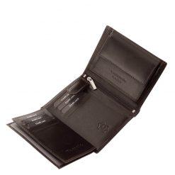 Exkluzív, minőségi valódi bőr férfi irattartó pénztárca Tesselo márkajelzéssel barna színben. Díszdobozban kerül kiszállításra.