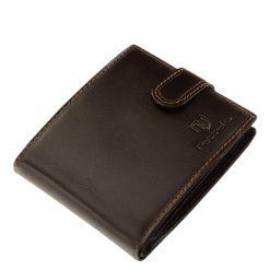 Igazi bőrből készült, minőségi férfi bőr pénztárca, mely a Tesselo kollekció egyik legújabb barna színű modellje. Díszdobozos modell.