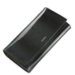 Az aktuális divat követőinek ajánljuk ezt a fekete színű minőségi PATRIZIA márkás női pénztárca modellt. Díszdobozos kivitelben készült tárca.